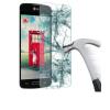 LG L70 D320, Kijelzővédő fólia, ütésálló fólia, Tempered Glass (edzett üveg), Clear