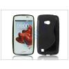 LG LG L50 D213N szilikon hátlap - S-Line - fekete