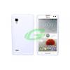 LG P760 Optimus L9 fehér szilikon tok