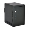 Lian Li PC-Q20B Mini-ITX Cube - fekete (PC-Q20B)