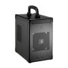 Lian Li PC-TU100 Mini-ITX Cube fekete (PC-TU100B)