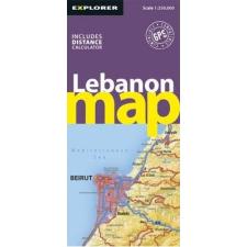 Libanon autótérkép - Explorer Publishing térkép