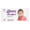 Libero Sensitive nedves törlőkendők érzékeny bőrre 64 db
