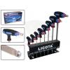 Licota Tools Imbuszkulcs készlet, T-forma, 2-10 mm 8r. - Licota (AWT-30126CNM)