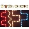 Life Light Led Minden irányba hajlítható Led szalag 42 led/m, RGB 5050 chip, 250 Lumen, RGB, Life Light Led, ÚJ!