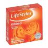 LifeStyle LIFESTYLE ÓVSZER RIBBED NARANCS, 3 db
