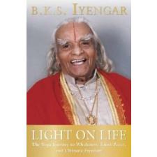 Light On Life – B K S Iyengar idegen nyelvű könyv
