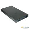 """LINDY Lindy 2.5"""" külső merevlemez ház és USB HUB fekete /43199/"""