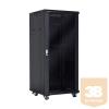 Linkbasic álló rack szekrény 19'' 37U 600x600mm fekete