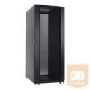 Linkbasic álló rack szekrény 19'' 42U 800x1000mm fekete