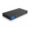 Linksys Gigabit PoE Switch 8-port LGS108P (LGS108P-EU)
