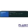 Linksys SMB LGS105 5port 10/100/1000Mbps LAN nem menedzselhető asztali Switch (LGS105-EU)