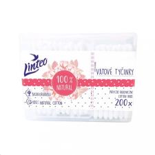 LINTEO Papír fültisztító pálcika 100% natural Linteo 200 db dobozban fürdőkellék