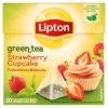 LIPTON epres sütemény ízű zöld tea 20 piramis filter