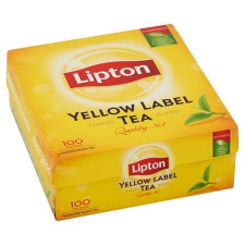 "LIPTON Fekete tea, 100x1,5 g,  ""Yellow Label"" tea"