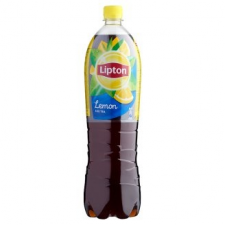 LIPTON Ice Tea citrom ízű szénsavmentes üdítőital cukorral és édesítőszerrel 1,5 l üdítő, ásványviz, gyümölcslé