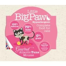 Little BogPaw Little BigPaw Cat Gourmet Atlantic Tuna Mousse 85gr macskaeledel