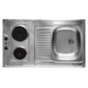 LIVINOX 986507K főzőlapos mosogatótálca