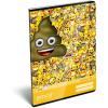 LizzyCard Füzet tűzött A/4 kockás Emoji Poop 17509601