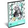 LizzyCard Füzet tűzött A/5 szótár Pet Meow 17512307