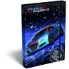 LizzyCard Füzetbox A/4 Super Racecar Blue Thunder 17513401