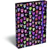 LizzyCard Füzetbox A/5 Lollipop Dark Owl 17340222