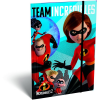 LizzyCard Gumis mappa A/5 The Incredibles 2 Team 18568202