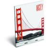 LizzyCard Notesz papírfedeles A/7 GEO City San Francisco 17264907