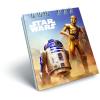 LizzyCard Notesz spirál kicsi A/7 Star Wars Classic Droids 17519908