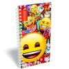 LizzyCard Notesz spirál közép Emoji Smile 17520102