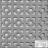 Locatelli Perforált lemez Grezzo natúr Hdf Damasco 1520x610x3mm