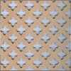 Locatelli Perforált lemez Laccato Hdf Gotico 381 Bükk 1400x510x3mm