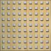 Locatelli Perforált lemez Legno furnérozott Hdf-Quadro 10-20 Fenyő/fenyő 1520x610x4mm