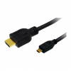 LogiLink Cable HDMI (Typ-A) to Micro-HDMI (Typ-D), 4.6 Meter CH0034