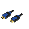 LogiLink CHB1105 HDMI 1.4 High Speed Ethernet (10,2 Gbps) 5m fekete kábel