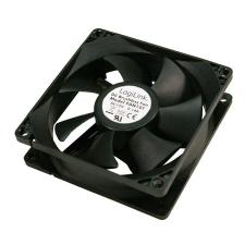 LogiLink FAN101 8cm cooler Black hűtés