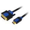 LogiLink HDMI-DVI kábel  HQ  2 m