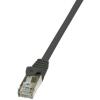 LogiLink patch kábel, Cat.6 F/UTP EconLine 10m fekete