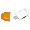 LogiLink \'\'Smile\'\' kártyaolvasó  USB 2.0  narancssárga