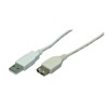 LogiLink USB hosszabbító kábel 2.0 A-A 2 m