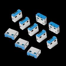 LogiLink - USB port blocker (10x locks) kábel és adapter