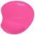 LogiLink Zselés csuklótámasszal rózsaszín egérpad (ID0027P)