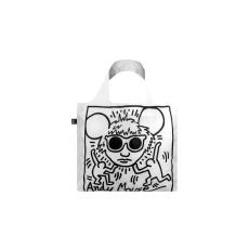 LOQI Bag Keith Haring Andy Mouse Bag