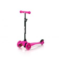 Lorelli Mini roller - Pink lábbal hajtható járgány