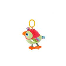 Lorelli Toys zenélő plüss játék - piros madár plüssfigura