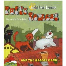 Lőrincz Judit Lívia PUFFY TOMCAT AND THE RASCAL GANG - PUFI KANDÚR ÉS A BITANG BANDA - ANGOL gyermek- és ifjúsági könyv