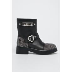 Love moschino - Magasszárú cipő - fekete - 1345585-fekete