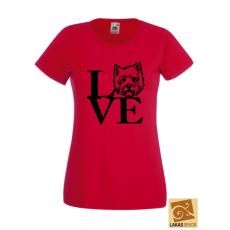 Love Westis női póló