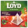Loyd aromatizált filteres gyümölcstea csipkebogyóval és almával 20 filter 40 g