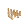 LRP Electronic LRP 5mm/G5 Gold Works Team/arany csatlakozók (10db)
